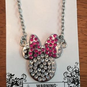 SALE🎉Rhinestone Minnie Mouse Necklace